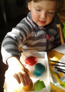johann eier färben