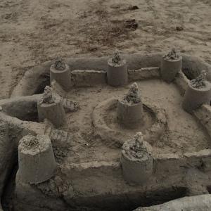 Sandburgen bauen